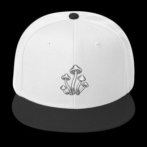 Magic Mushrooms Psychedelic Snapback Hat